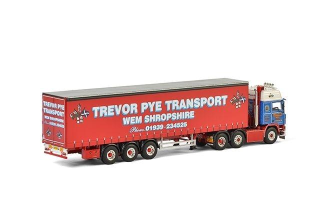 Volvo F12 Planenauflieger Trevor Pye Transport