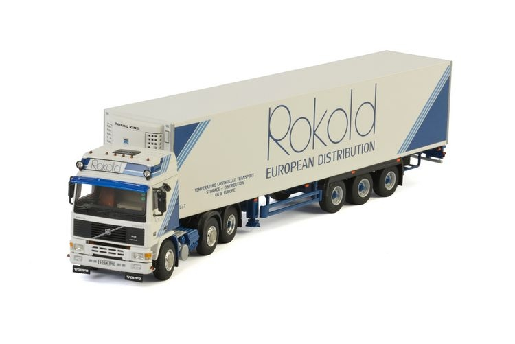 Volvo F12 Reefer Trailer  Rokold