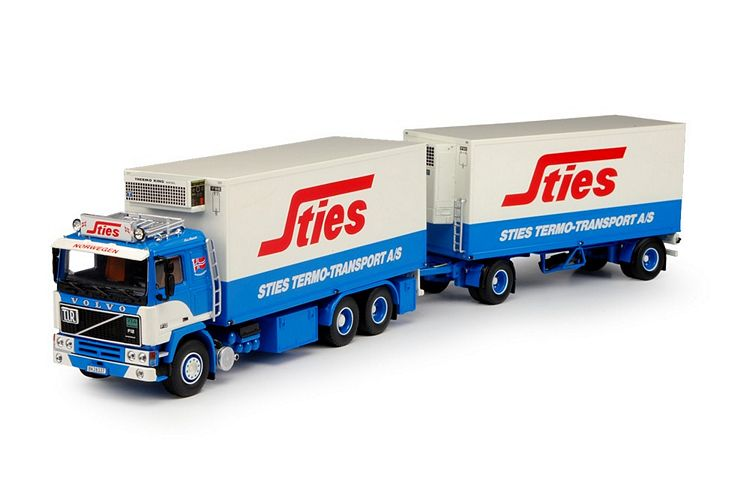 Volvo F12 rigid truck  Sties