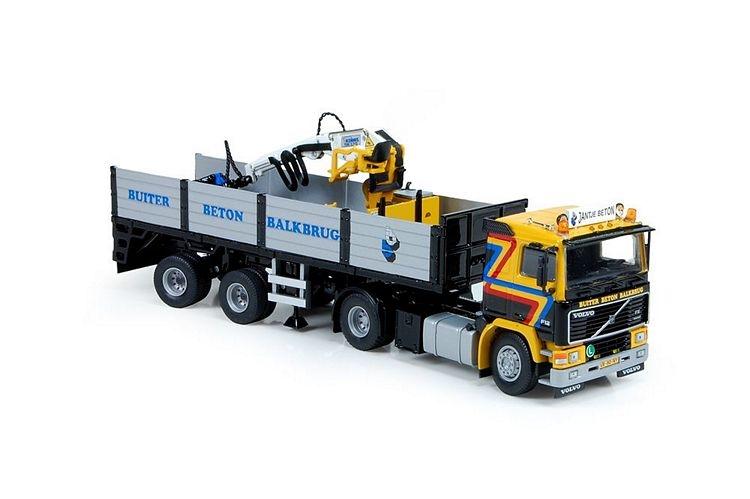 Volvo F12  Steinen auflieger Buiter gerben