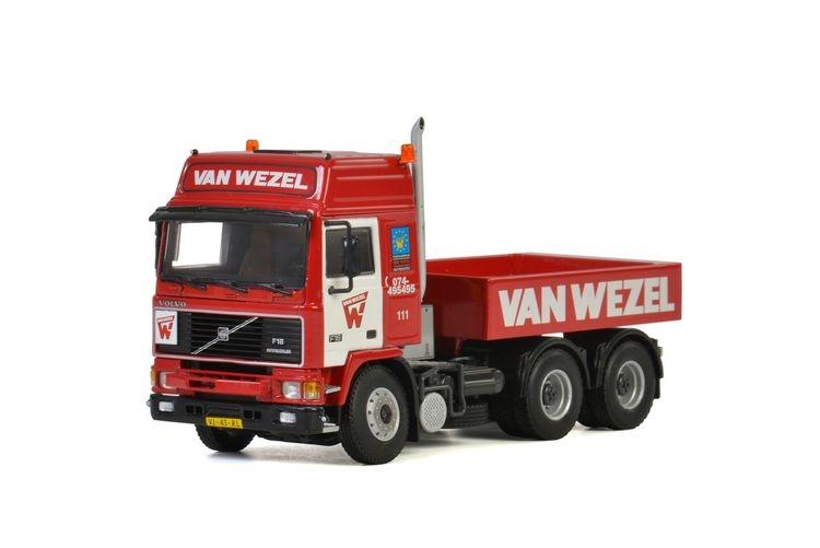 Volvo F16 Globetrotter Ballast Box Van Wezel