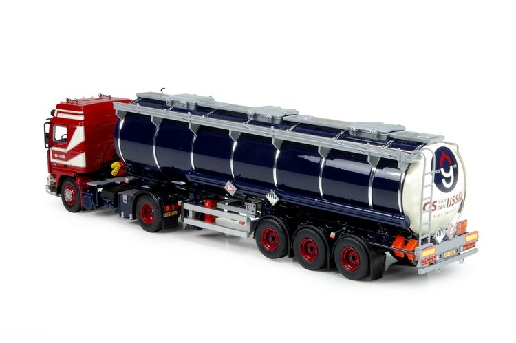 Volvo F16 Globetrotter Tankauflieger Ijssel van den