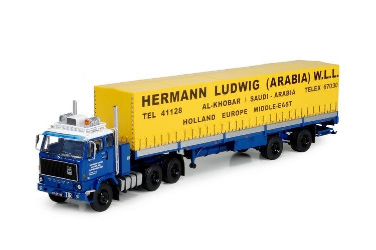 Volvo F88 2 achs Auflieger Ludwig Hermann