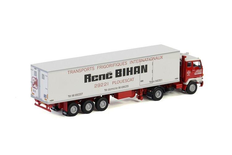 Volvo F88 4x2 Classic Reefer Trailer  Rene Bihan