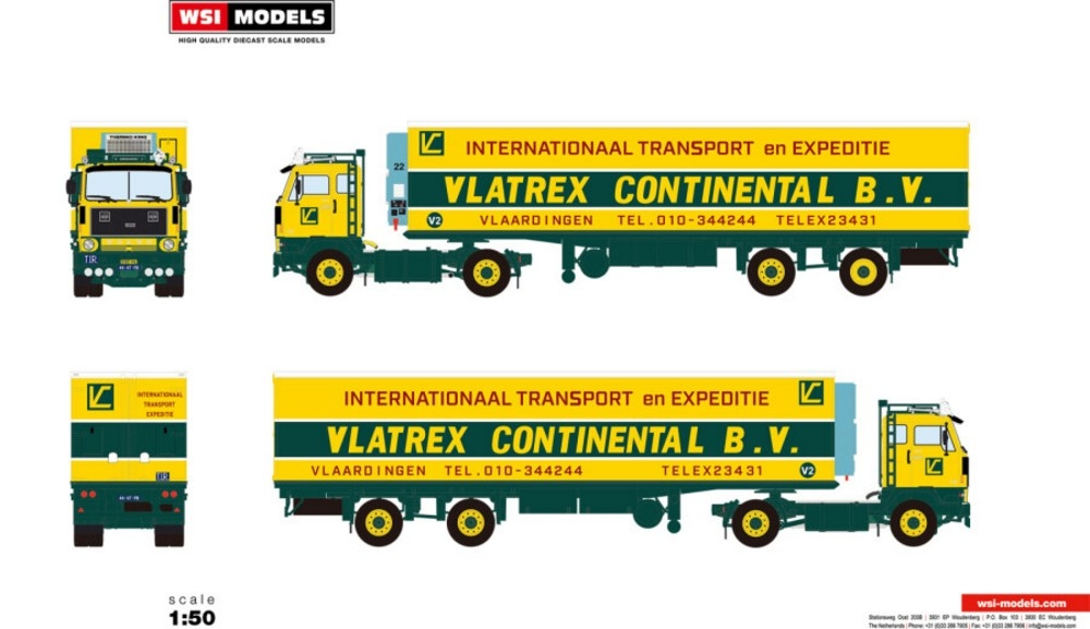 Volvo F89 4X2 Reefer Trailer Classic   Vlatrex