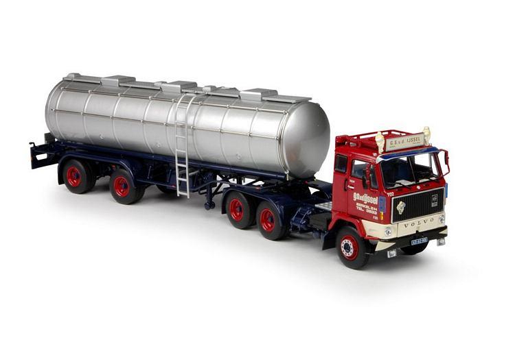 Volvo F89 klassik tank auflieger  IJssel G.S. van den