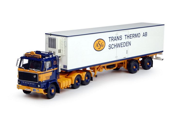 Volvo F89  Klassische  Scania 1 Schwedisch Komb ASG Set