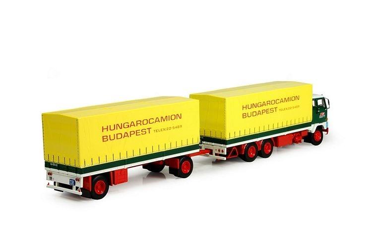 Volvo F89 Motorwagen  2-Achs Anhänger Hungarocamion