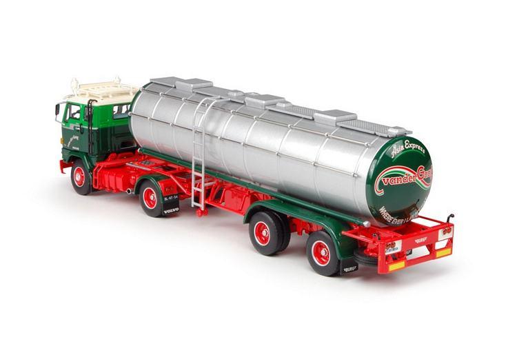 Volvo F89 tank auflieger  Gaag van der