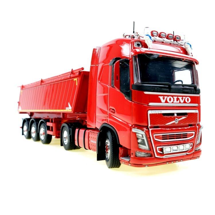 Volvo FH 04 4x2 Kipper STAS RAL 3000