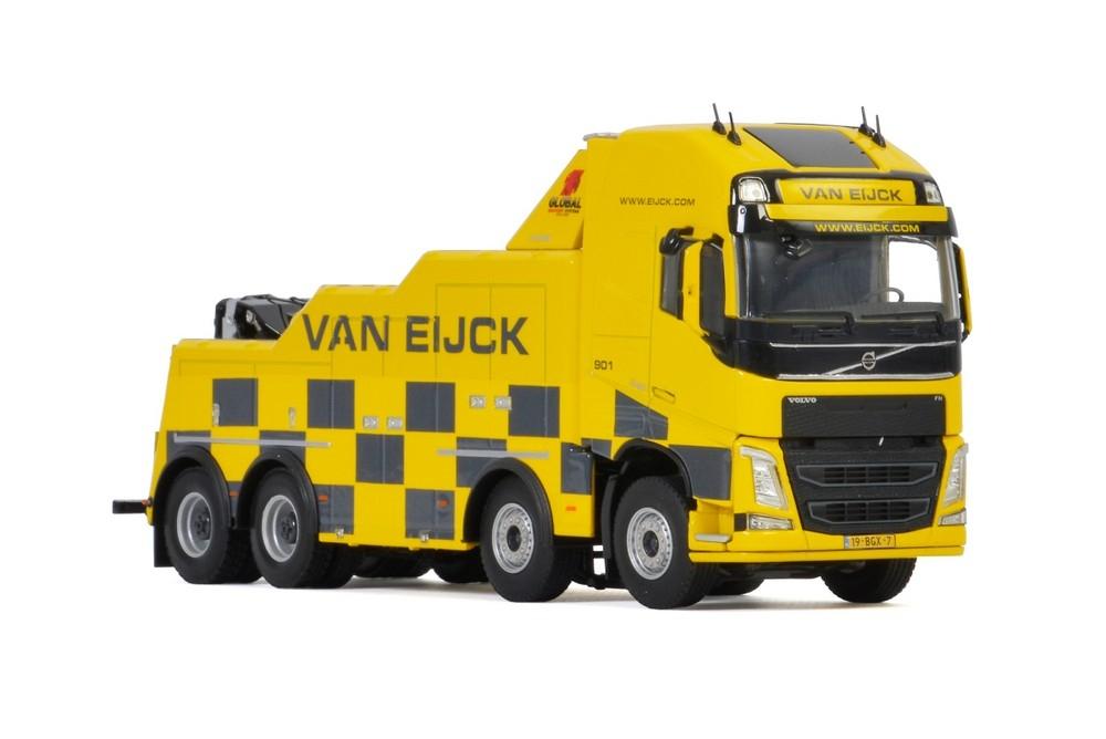 Volvo FH 4 Globetrotter XL 8X4 Falkom  Van Eijck