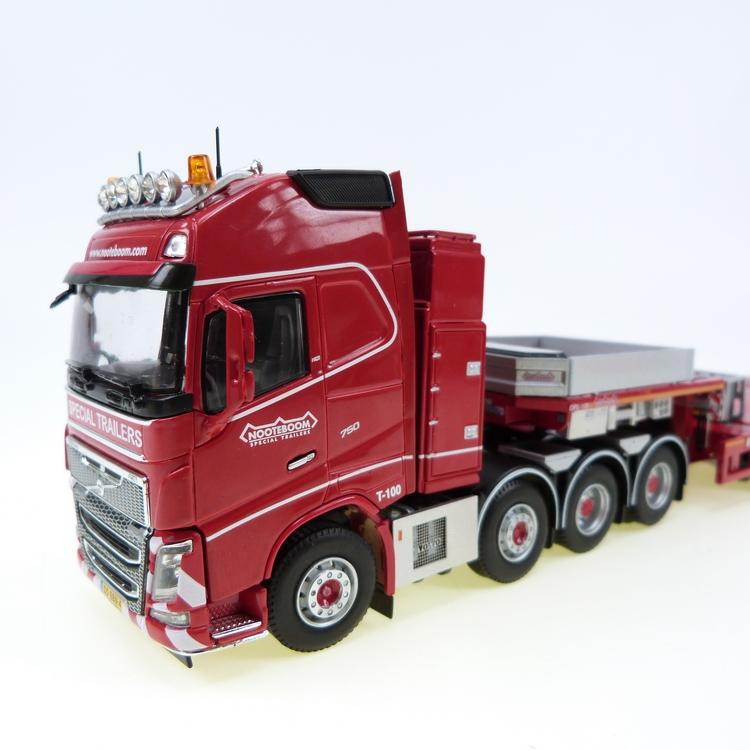 Volvo FH 8x4 Nooteboom MULTI-PX 2+6 module semi low-loader