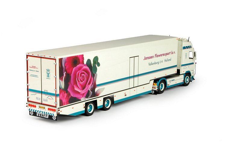 Volvo FH03 Globe. Janssen Flowerexport