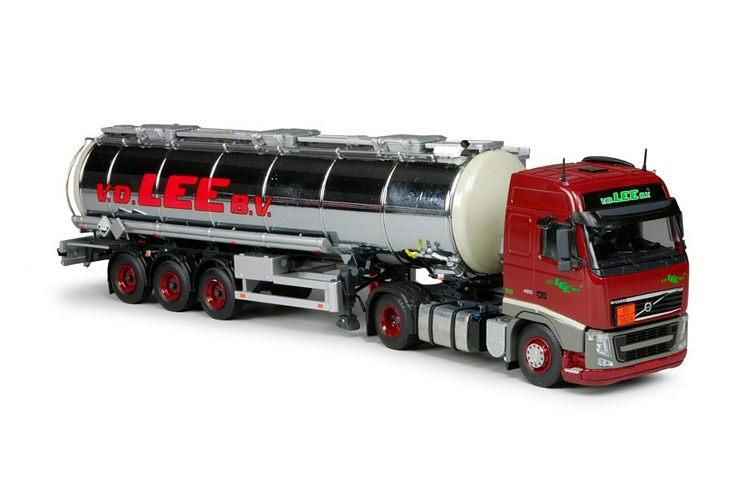 Volvo FH03 mit Edelstahltank Auflieger  Lee van der