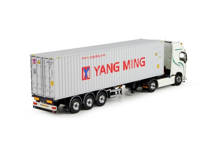 Volvo FH04 40ft container auflieger Yang Ming