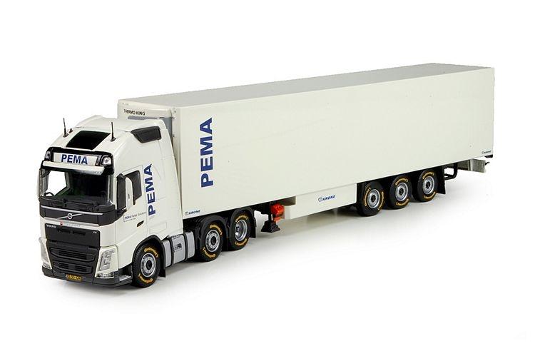 Volvo FH04 6x2  Kuehlauflieger Pema
