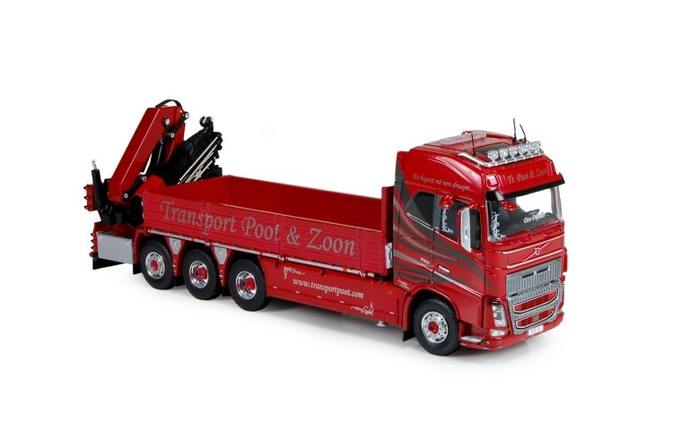 Volvo FH04 8x4  Kran Poot & Zoon