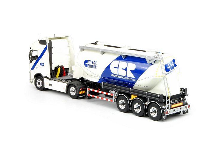 Volvo FH04 Euro 6 Siloauflieger CBR Cement