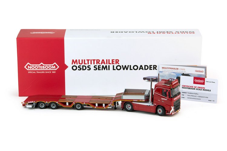 Volvo FH04 flat roof  Nooteboom