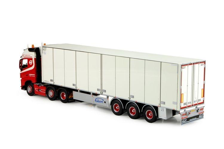 Volvo FH04 Glob.  Kuehlanhaenger Verboon Transport de Lier
