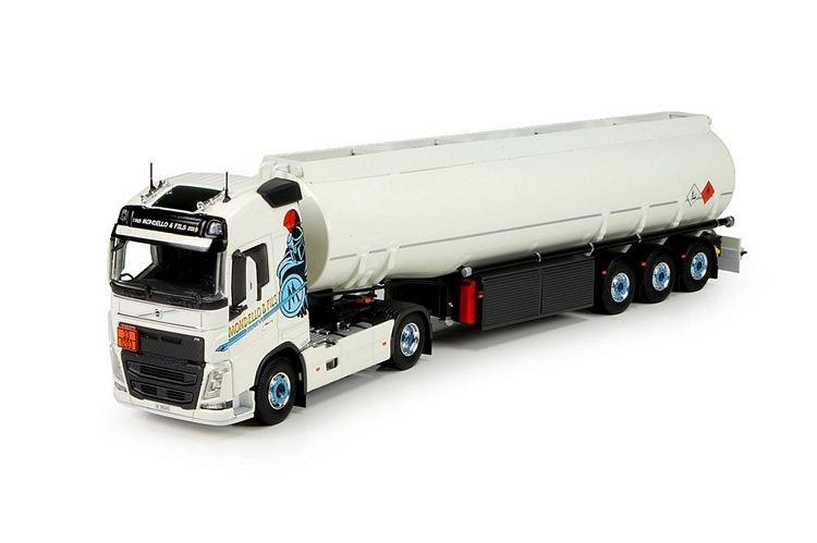 Volvo FH04 Globe. Benzin Auflieger Mondello & Fils