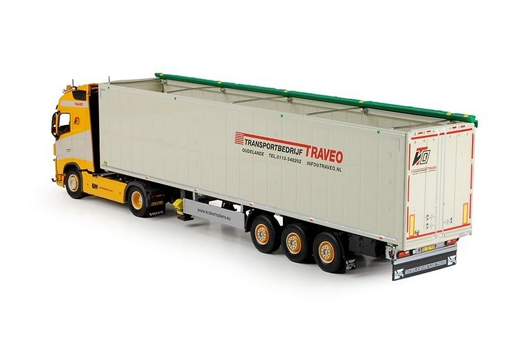 Volvo FH04 Globe. Cargo floor Traveo