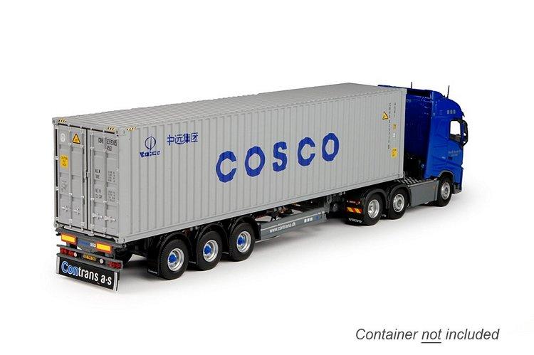 Volvo FH04 Globe. container Contrans