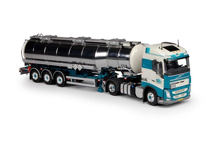 Volvo FH04 Globe. Gans Tankauflieger Ouden Den