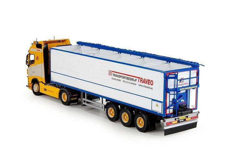 Volvo FH04 Globe. Potato semitrailer Traveo
