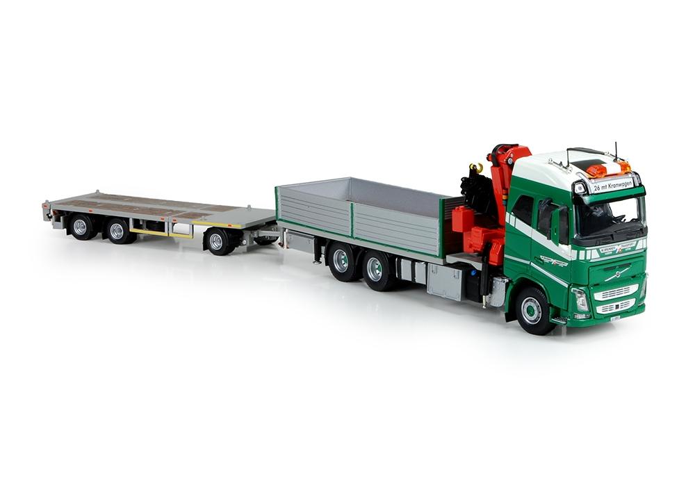 Volvo FH04 Globe. rigid truck  Brunner