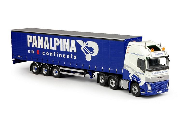 Volvo FH04 Globe. Schiebeplanen Grampian Panalpina