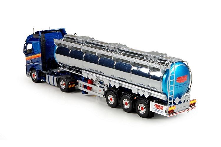 Volvo FH04 Globe. Tankauflieger Tiel L Van