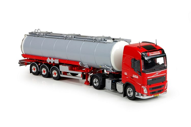 Volvo FH04 Globe. tankerauflieger Schenk