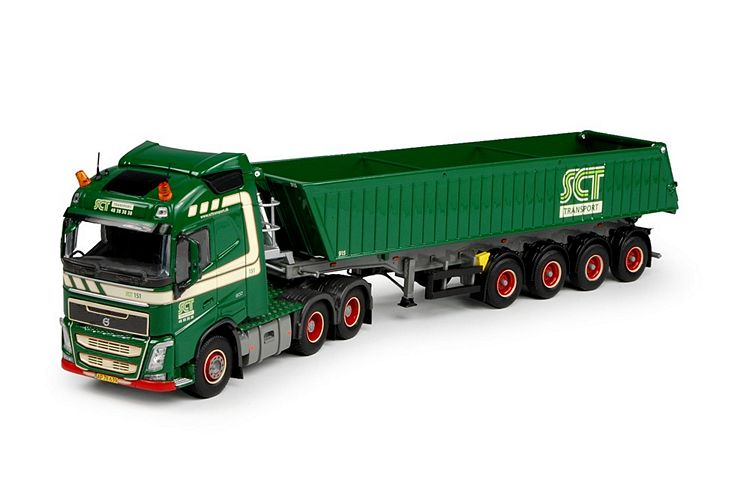 Volvo FH04 Globe. Tipper SCT Transport