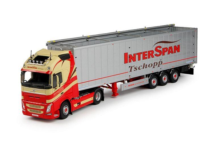 Volvo FH04 Globe. XL  Cargo floor Interspan Tschopp