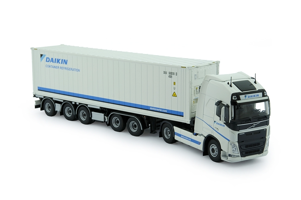 Volvo FH04 Globe. XL  Containerchassis  Kühlcontainer Daikin
