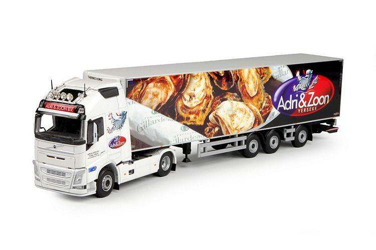 Volvo FH04 Globe. XL Kühlauflieger Adri & Zoon