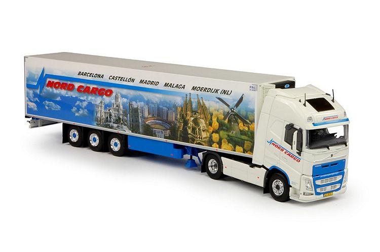 Volvo FH04 Globe. XL Kühlauflieger Nord Cargo
