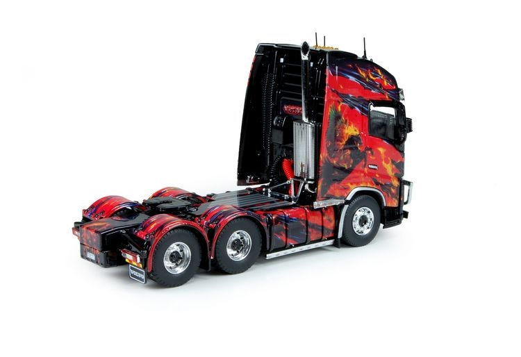 Volvo FH04 Globe. XL KS TRANSPORT black version