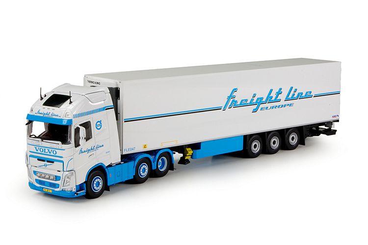 Volvo FH04 Globe. XL Kuehlauflieger Freightline