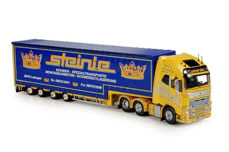 Volvo FH04 Globe XL Meusberger trailer Steinle