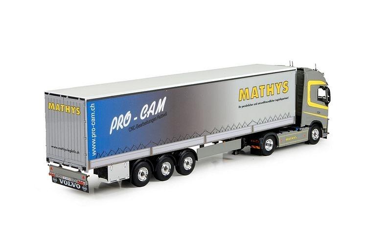 Volvo FH04 Globe. XL  Planenauflieger  Mathys