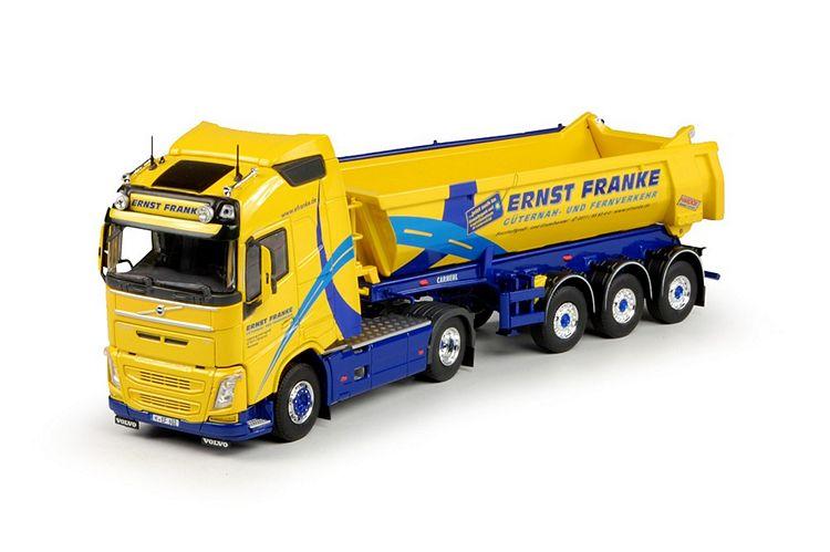 Volvo FH04 Globetrotter 3 Achse Tipper Franke Ernst