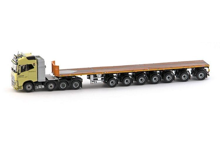 Volvo FH04 Globetrotter 6x4  Ballasttrailer Verschoor