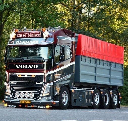 Volvo FH04 Globetrotter  Asphaltbehaelter Vognmand Soren Nielsen