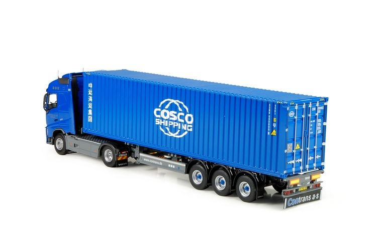 Volvo FH04 Globetrotter  Cosco Shipping container Contrans