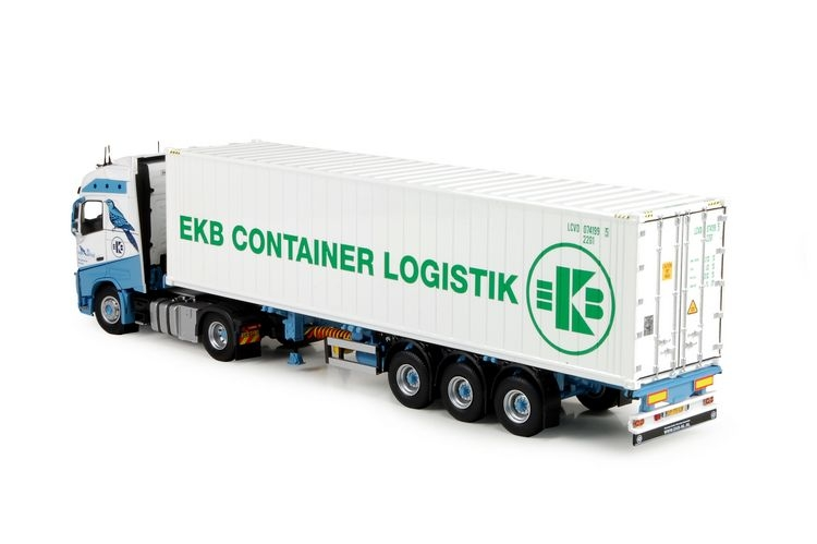 Volvo FH04 Globetrotter Kuehl container Driel Van