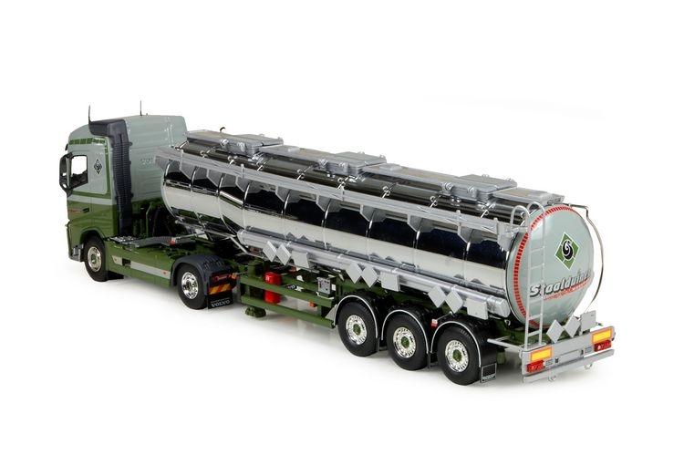 Volvo FH04 Globetrotter tankauflieger  Staalduinen