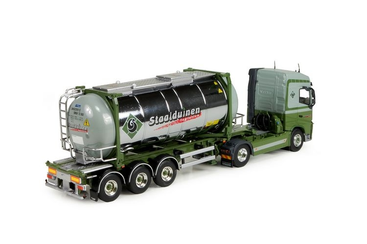 Volvo FH04 Globetrotter  tankcontainer Staalduinen