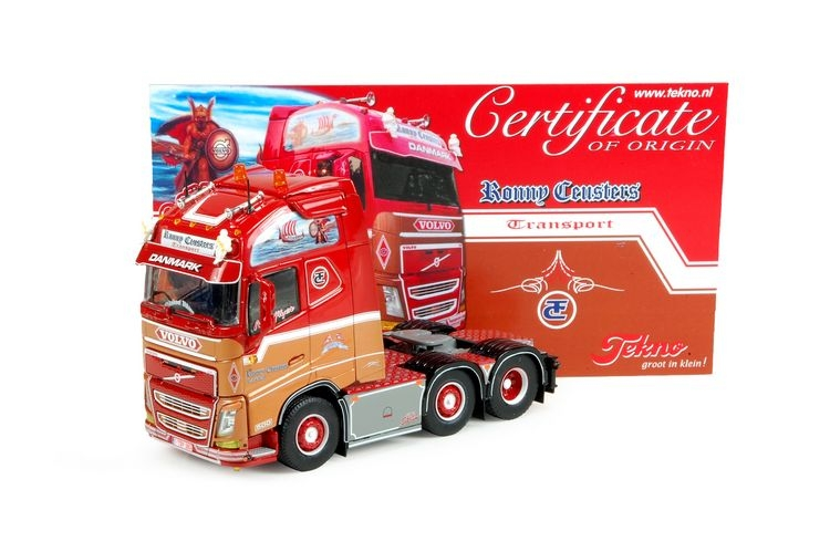 Volvo FH04 Globetrotter XL  Ceusters Ronny